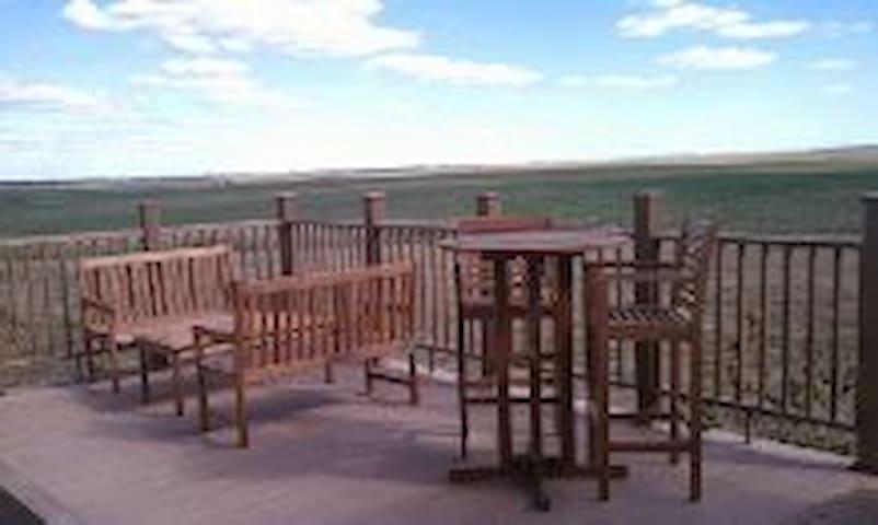 Panoramic Views from Rural Lodge