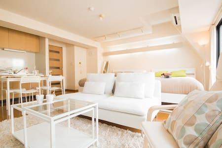 5 min Dotonbori Top Floor Suite 4ppl #701