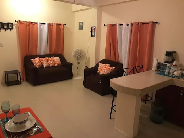 Quiet Apartment w/QueenBed & TV in Belize