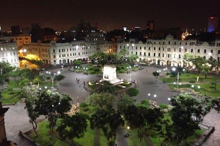Heart of Plaza San Martin-2 Bedroom Apt.(Air Cond)