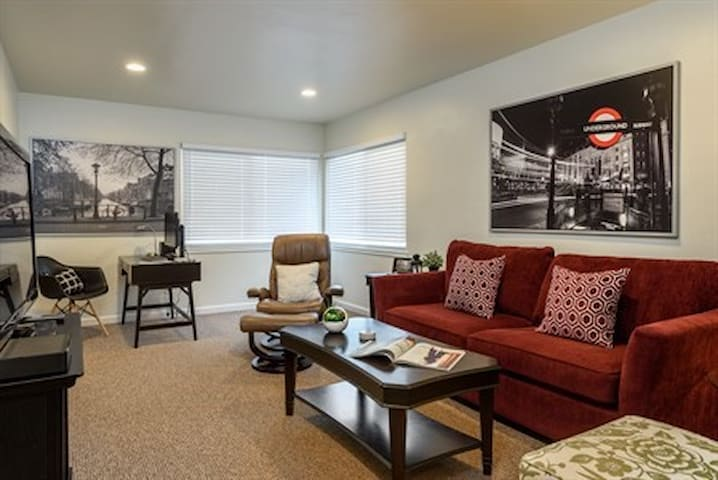 Beauty in San Carlos!  1 large bedroom apartment