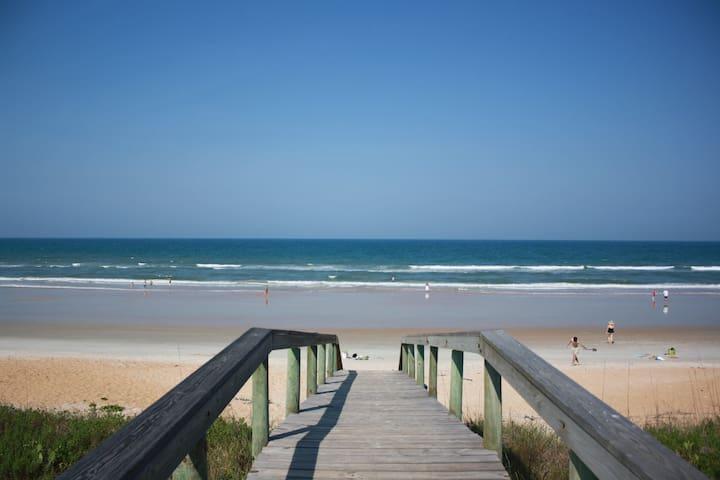 On the Beach Rental , Oceanfront, Flagler Beach
