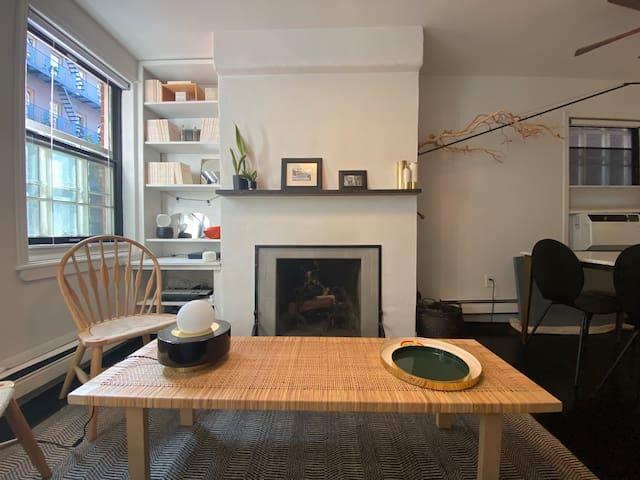 West Village-1 large bedroom w/ fireplace-Quiet St