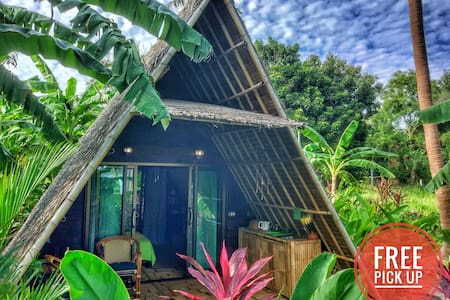 Seaview A-frame 💚 ECO Bungalow-1