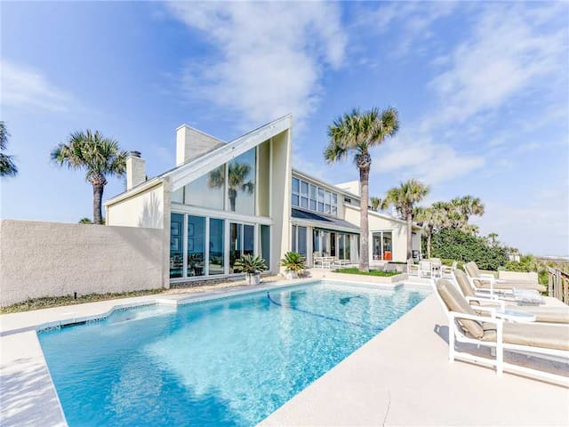 Ponte Vedra Blvd 539, 5 Bedrooms, Sleeps 12, Beach Front, Private Pool