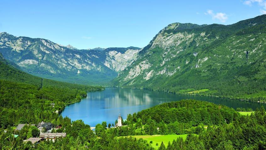 Guidebook for northwestern Slovenia