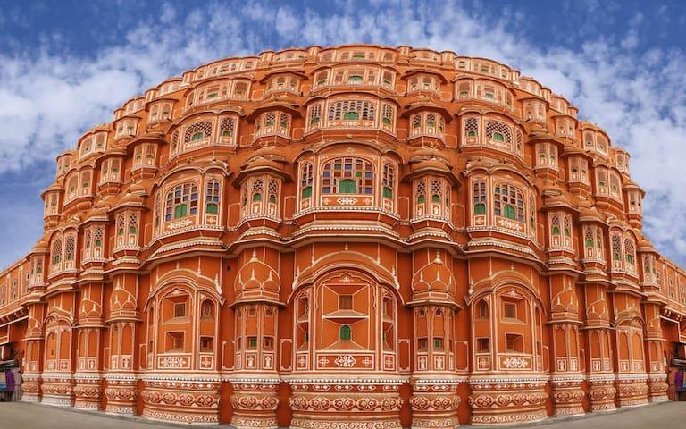 Abhishek Singh's guidebook Jaipur