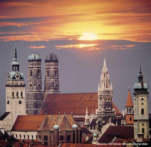 Main sights of Munich