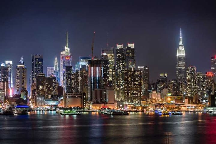 NYC skyline view