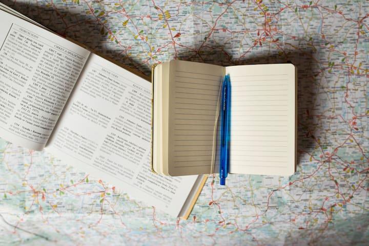 Daria's guidebook