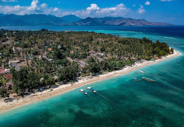 Guidebook for our paradise island Gili Air, Lombok