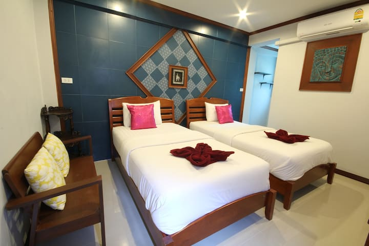 Superior room with twin bed, TR Guesthouse