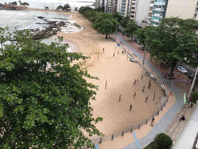 Magnífico Apto Frente Praia Castanheiras Guarapari