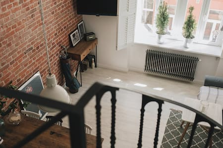 ♡Loft Studio♡Central,Spacious and cosy