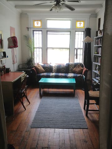 South-facing room in Brooklyn!