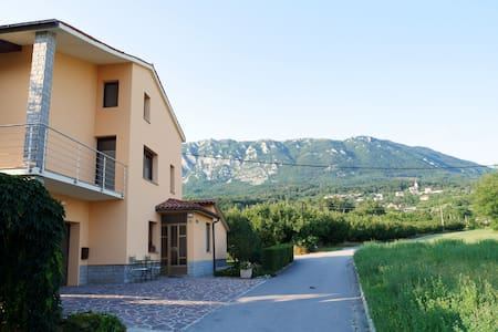 Your own floor in a beautiful house near Vipava