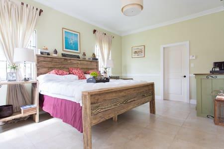 Rustic charm private suites