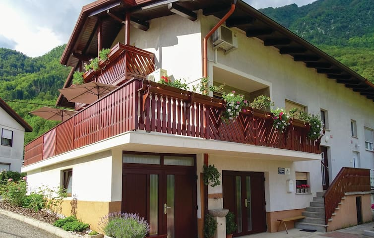 Holiday apartment with 2 bedrooms on 62 m² in Tolmin