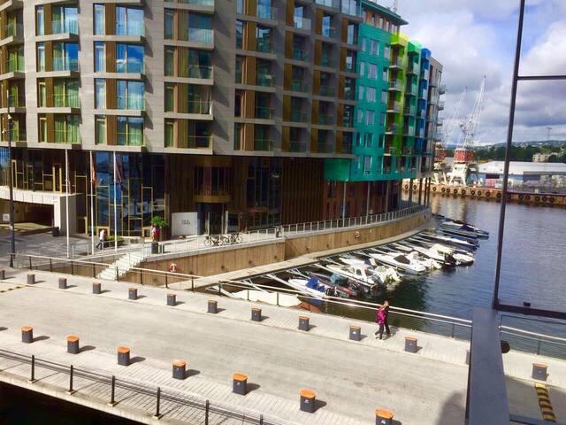 Exclusive 2bedroom in Tjuvholmen, sea view&terrace