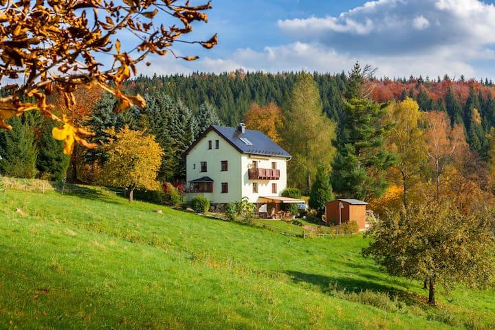 Großrückerswalde的民宿
