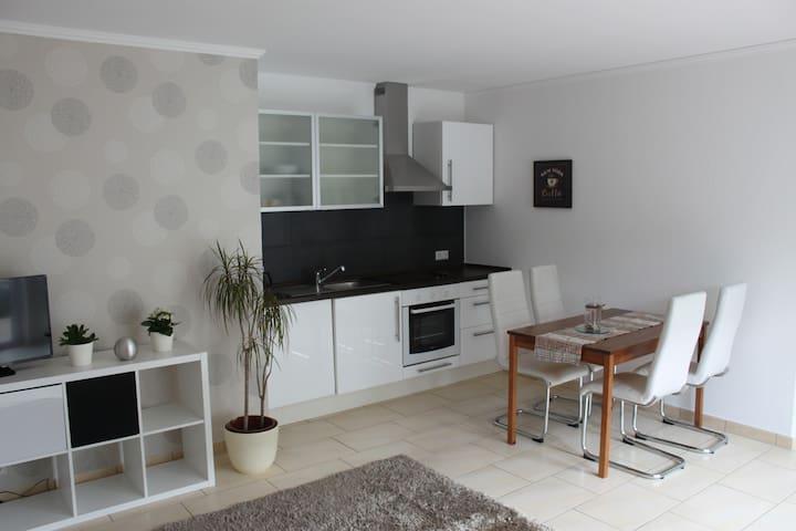 Schicke Wohnung mit tollem Ausblick