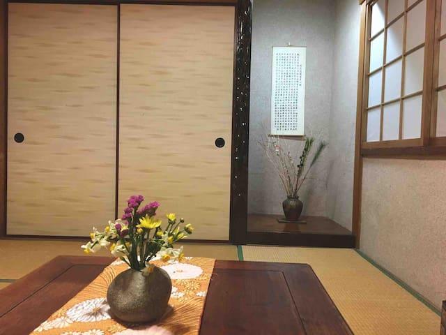 Japan style 和室欢迎住我家 可接送哦