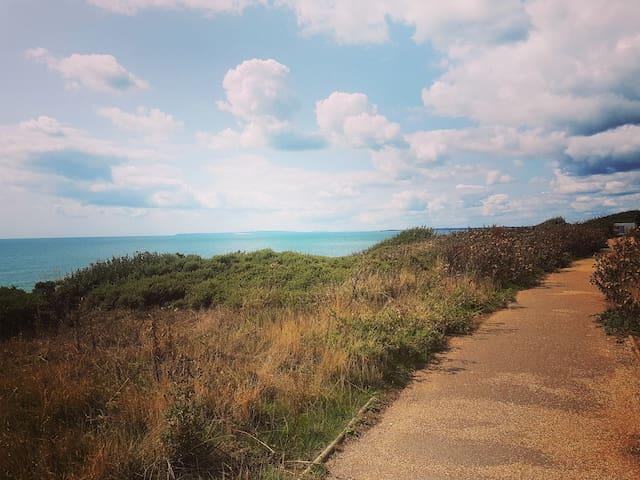 Barton on Sea的民宿
