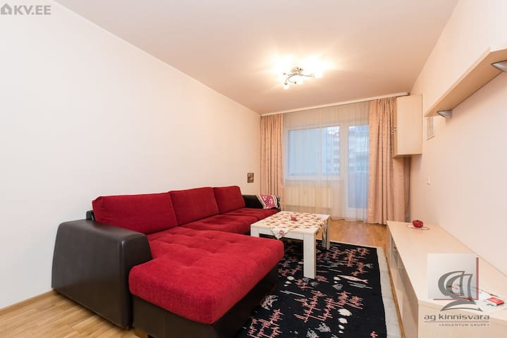 Room in shared apartment with balcony in Mustamäe