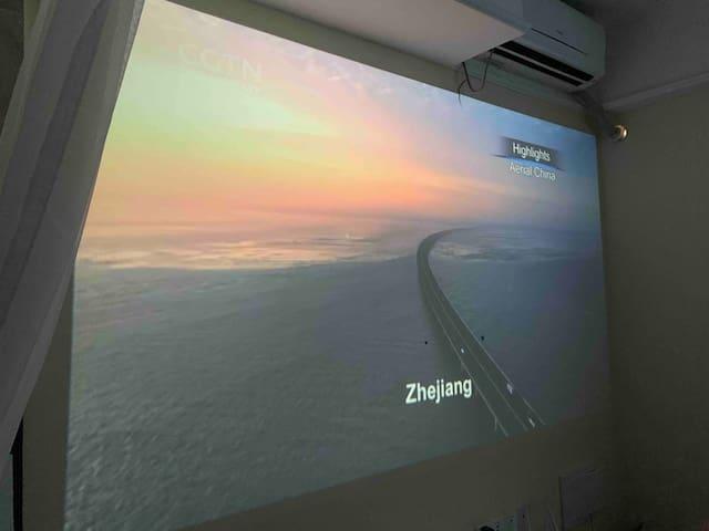 [ 拾 • 光 ]万达广场观影观景超大屏幕完美呈现。