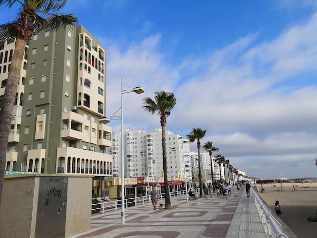 Primera línea de playa. Perfecto para familias