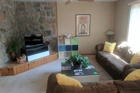 Modern Poconos Townhouse Unit in Resort Community!