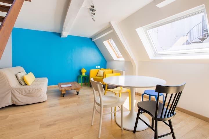 Duplex 47 m2 au coeur du Vieux-Lille