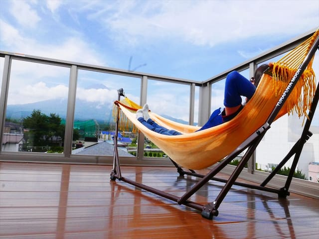 Partial Mt.Fuji View Room/Best for 3-4ppl Family