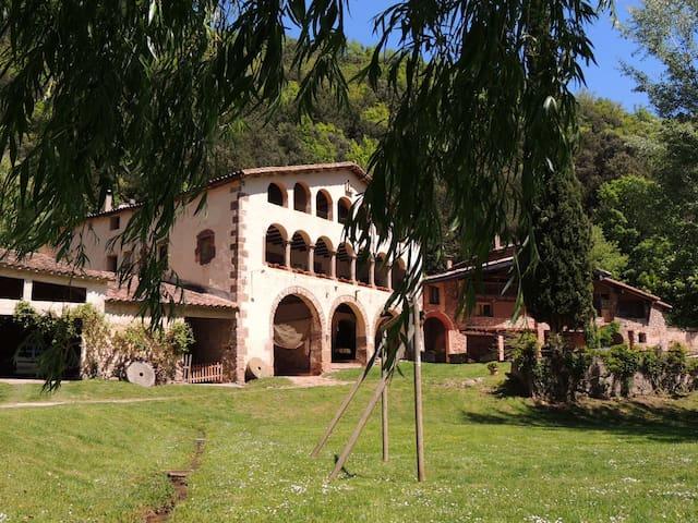 La Vall de Bianya的民宿