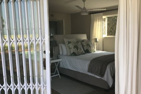 Comfortable, private ensuite with sea & city views