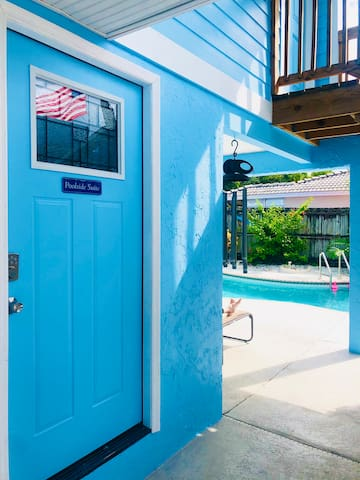 Siesta Key - Poolside Suite - Studio - Free kayaks