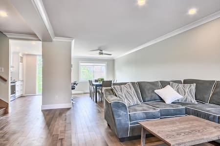 Completely renovated townhouse in Montreal