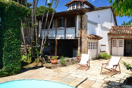 Historic Center of Paraty with pool