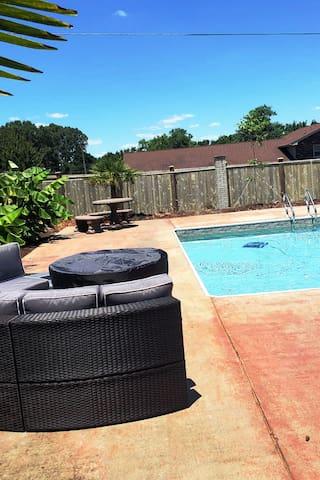 Newly Furnished Home w/ Pool & Fenced in Yard!!!