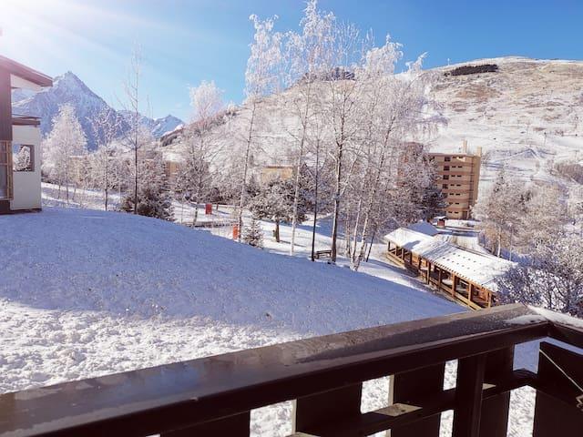 Les Deux Alpes的民宿