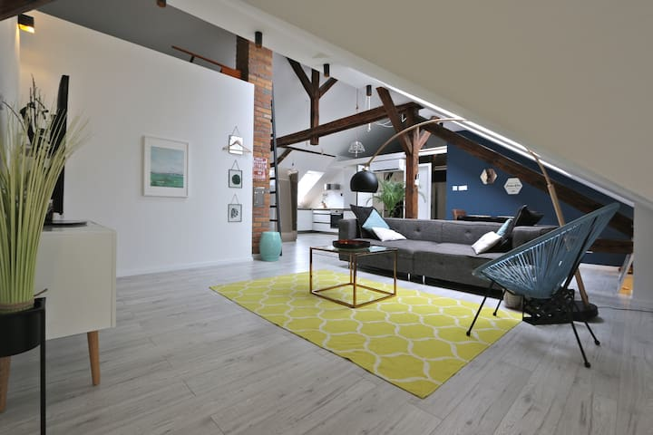 Design attic Apartment Štefánikova