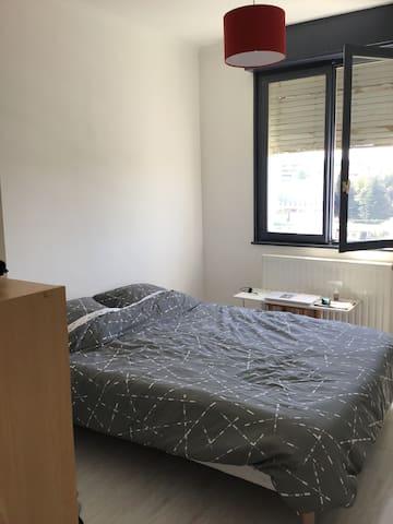 Appartement avec loggia vue panoramique