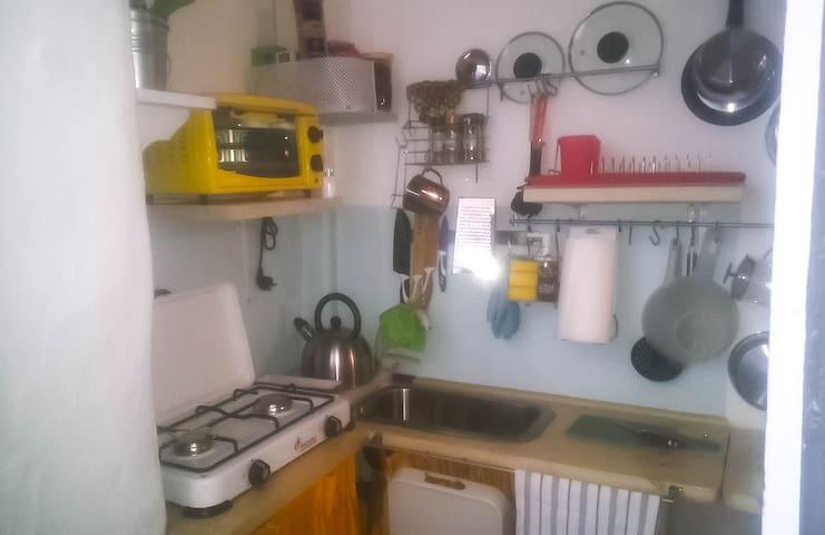Casa Sarino  tiny home in Centro storico with AC!