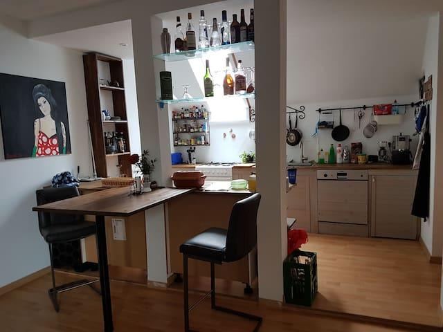 Wohnung mit 30qm Terrasse