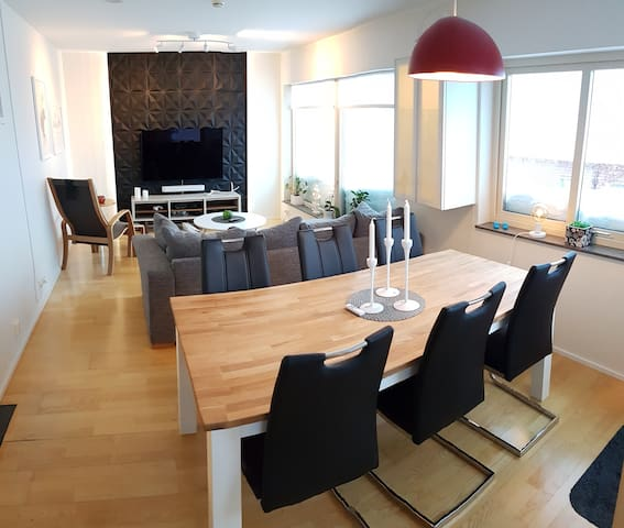Apartment Riksgränsen 6 beds. ABC Husen B2