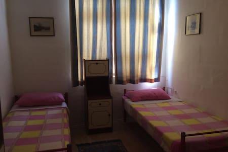 Gzira border  Sliema , 2 double single bedrooms.