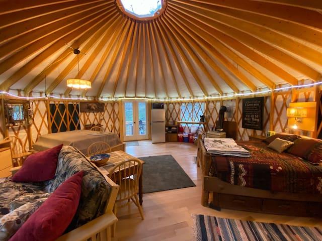 Yurt in a High Mountain Montana Get-Away!