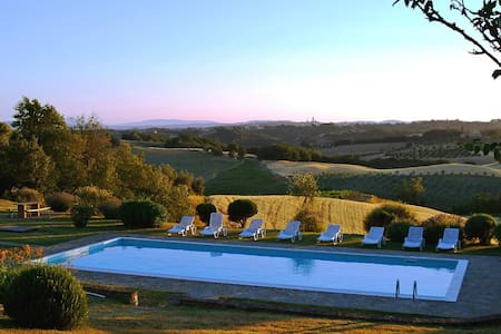 Idyllic Siena Retreat-Splendid View