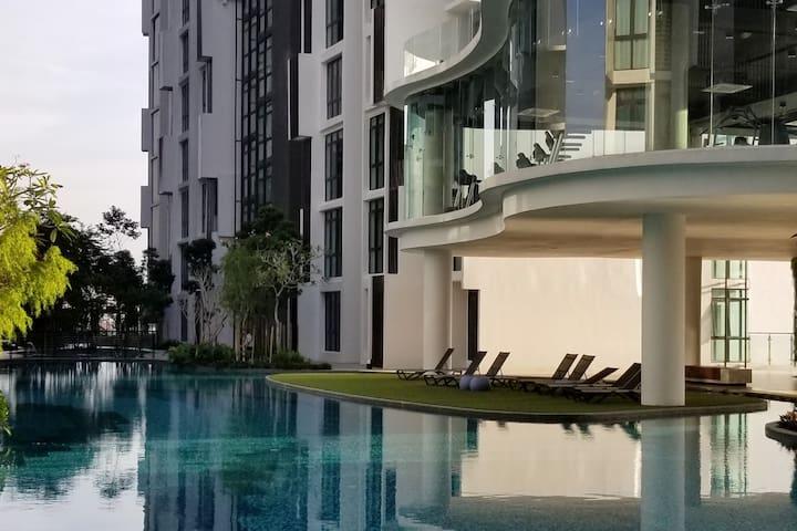 New property (2-4pax)@H2O Residences,Ara Damansara