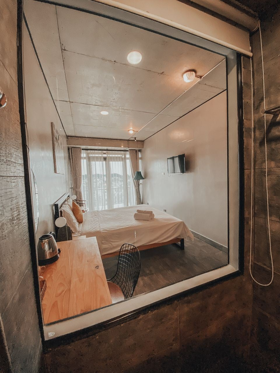 Deluxe Double Room at The Dalat Shelter